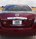 nissan altima 2011 dk  red sedan 2 5 s gasoline 4 cylinders front wheel drive automatic 76018