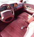 chevrolet caprice 1992 red sedan gasoline v8 rear wheel drive automatic with overdrive 60546