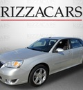 chevrolet malibu maxx 2006 silver hatchback ltz gasoline 6 cylinders front wheel drive automatic with overdrive 60546
