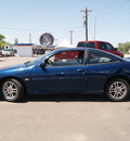 chevrolet cavalier 2002 indigo blue coupe z24 gasoline 4 cylinders front wheel drive 5 speed manual 80911