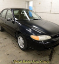 ford escort 1999 black sedan lx gasoline 4 cylinders front wheel drive automatic 14304