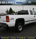 chevrolet silverado 2500hd 2001 white ls diesel 8 cylinders 4 wheel drive automatic 98632