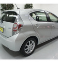toyota prius c 2012 silver hatchback four hybrid 4 cylinders front wheel drive automatic 91731