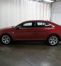 ford taurus 2011 red sedan sho gasoline 6 cylinders all whee drive automatic 76108