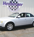 audi a4 2003 light silver sedan 1 8t quattro gasoline 4 cylinders dohc all whee drive automatic 80905