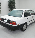 toyota corolla 1989 white sedan deluxe gasoline 4 cylinders front wheel drive automatic 91731