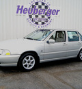 volvo s70 2000 mystic silver sedan glt se gasoline 5 cylinders front wheel drive automatic 80905