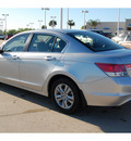 honda accord 2012 silver sedan lx p gasoline 4 cylinders front wheel drive 5 speed automatic 77065