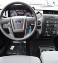 ford f 150 2012 gray xlt 4x4 gasoline 6 cylinders 4 wheel drive automatic with overdrive 60546