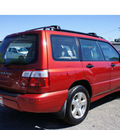 subaru forester 2001 red suv s gasoline 4 cylinders all whee drive manual 95678