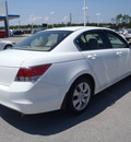 honda accord 2010 white sedan ex l gasoline 4 cylinders front wheel drive automatic 28557