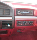 ford f 150 1995 redblack pickup truck xlt gasoline v8 4 wheel drive automatic with overdrive 45840