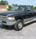 dodge 2500 ram 1995 black pickup truck 4x4 gasoline v8 4 wheel drive automatic with overdrive 45840