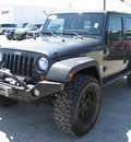 jeep wrangler unlimited 2010 dk  gray suv sport gasoline 6 cylinders 4 wheel drive automatic 62863