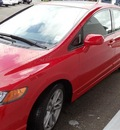 honda civic 2007 red sedan si gasoline 4 cylinders front wheel drive manual 98674