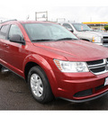 dodge journey 2011 dk  red express gasoline 4 cylinders front wheel drive automatic 98632