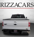 ford f 150 2010 white lariat 4x4 flex fuel 8 cylinders 4 wheel drive automatic with overdrive 60546