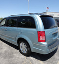 chrysler town country 2010 lt  blue van limited gasoline 6 cylinders front wheel drive automatic 60443