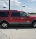 ford expedition el 2007 red suv xlt gasoline 8 cylinders rear wheel drive automatic with overdrive 76087