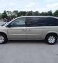 chrysler town and country 2003 tan van lx family value flex fuel 6 cylinders front wheel drive automatic 77388