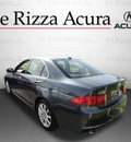 acura tsx 2007 dk  gray sedan gasoline 4 cylinders front wheel drive automatic with overdrive 60462