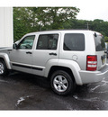 jeep liberty 2009 bright silver suv sport gasoline 6 cylinders 4 wheel drive automatic 08750
