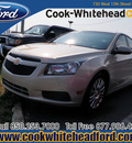chevrolet cruze 2011 gold sedan eco gasoline 4 cylinders front wheel drive automatic 32401