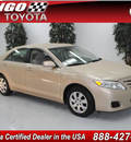 toyota camry 2010 tan sedan le v6 gasoline 6 cylinders front wheel drive automatic 91731