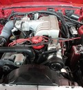 ford mustang 1986 red hatchback gt gasoline v8 rear wheel drive manual 60546