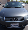 audi a4 2004 dolphin gray 1 8t gasoline 4 cylinders front wheel drive automatic 92653