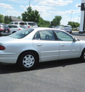buick regal 2000 silver sedan ls gasoline v6 front wheel drive automatic with overdrive 55124