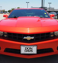 chevrolet camaro 2010 orange coupe ls gasoline 6 cylinders rear wheel drive 6 speed manual 76018
