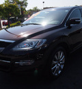 mazda cx 9 2009 black cherry suv grand touring gasoline 6 cylinders front wheel drive automatic 92653