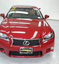 lexus gs 350 2013 riviera red sedan gasoline 6 cylinders rear wheel drive not specified 91731