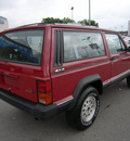 jeep cherokee 1990 red suv gasoline 6 cylinders 4 wheel drive automatic 46219