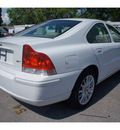 volvo s60 2007 white sedan 2 5t gasoline 5 cylinders front wheel drive automatic 33157