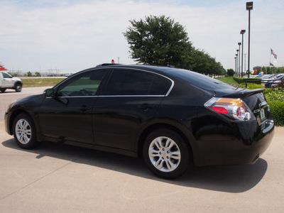 nissan altima 2012 black sedan 2 5 sl gasoline 4 cylinders front wheel drive automatic 76018