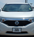 nissan quest 2011 white van 3 5 s gasoline 6 cylinders front wheel drive automatic with overdrive 76018