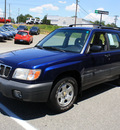 subaru forester 2001 blue suv l gasoline 4 cylinders all whee drive 5 speed manual 27215