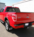 ford f 150 2010 red fx4 4x4 flex fuel 8 cylinders 4 wheel drive automatic 98371
