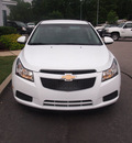 chevrolet cruze 2011 white sedan eco gasoline 4 cylinders front wheel drive 6 speed manual 27591