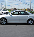 mazda mazda6 2008 silver sedan i sport value edition gasoline 4 cylinders front wheel drive automatic 46410