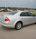 ford fusion 2012 silver sedan s gasoline 4 cylinders front wheel drive automatic 76108