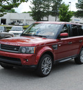 range rover range rover sport 2011 maroon suv hse gasoline 8 cylinders 4 wheel drive automatic 27511