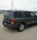 nissan armada 2011 dk  gray suv platinum flex fuel 8 cylinders 2 wheel drive automatic 76108