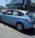 subaru impreza 2011 blue wagon 2 5i gasoline 4 cylinders all whee drive automatic 94063