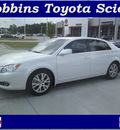 toyota avalon 2008 white sedan touring gasoline 6 cylinders front wheel drive automatic 75503
