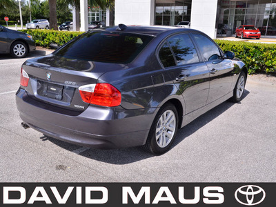 bmw 325i 2006 gray sedan gasoline 6 cylinders rear wheel drive automatic 32771