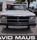 dodge 350 ram 1993 white gray pickup truck 1 ton diesel 6 cylinders rear wheel drive automatic 32771