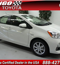 toyota prius c 2012 lt  blue hatchback four hybrid 4 cylinders front wheel drive automatic 91731